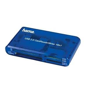Hama CardReader Writer 19in1, USB 2.0 Kartenlesegerät