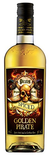 Pirates - Golden Pirate Spiced Rum - 0,7 Liter