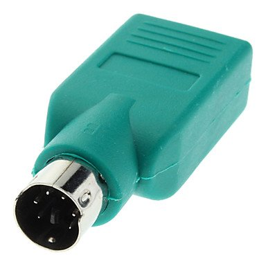 Cables adaptadores Hembra USB 2.0 PS2 Male Plug Convertor