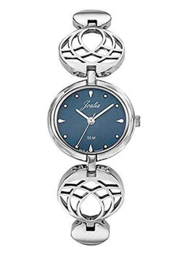 Joalia H630M595 - Orologio da donna con cinturino argentato e quadrante blu