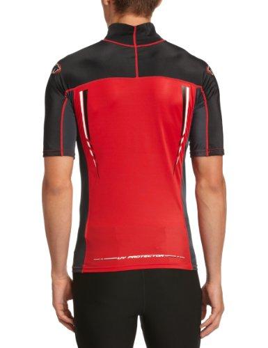 TWF Rash Guard Surf-Shirt rosso  - rosso