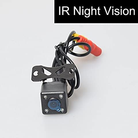Mini Auto Caméra de Recul Montage à Vis Raincoat IR Vision de Nuit Image Mirroir Câble 6m Gratuit