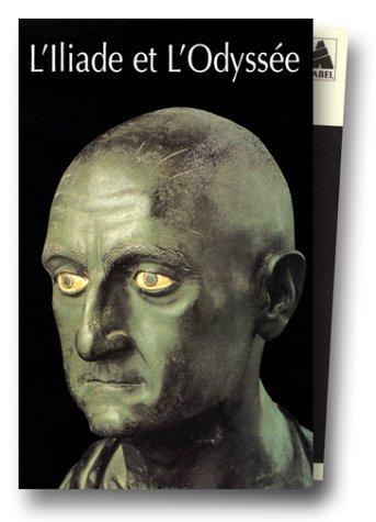 Homère, coffret 2 volumes : L'Iliade - L'Odyssée