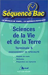 SCIENCES DE LA VIE ET DE LA TERRE TERMINALE S. Enseignement de spécialité
