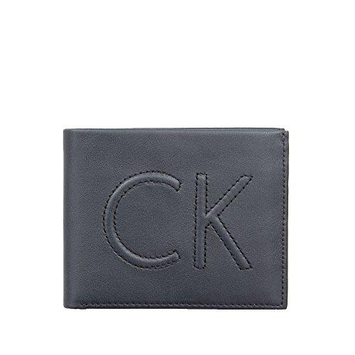 Portafoglio Uomo Orizzontale Semplice   Calvin Klein Jeans   K50K503367-Navy