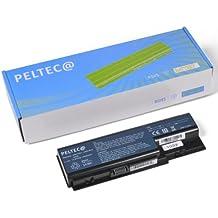 PELTEC@ - Batería de repuesto para portátil Acer Aspire 5930 6530 6920 6930 6935 (14,8 V, equivalente a baterías AS07B31, AS07B71, AS07B32, AS07B51, AS07B52, AS07B72, AS07B41, LC.BTP00.007, AS07B42), color negro