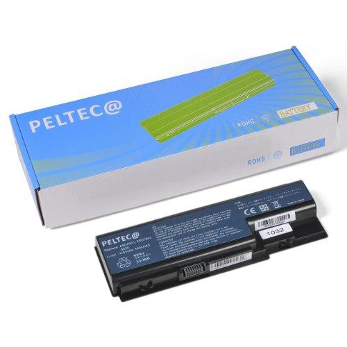 Foto de PELTEC@ - Batería de repuesto para portátil Acer Aspire 5930 6530 6920 6930 6935 (14,8 V, equivalente a baterías AS07B31, AS07B71, AS07B32, AS07B51, AS07B52, AS07B72, AS07B41, LC.BTP00.007, AS07B42), color negro