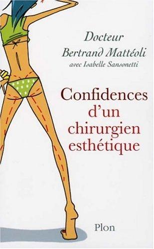 Confidences d'un chirurgien esthétique