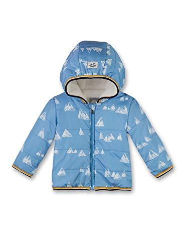 Sanetta Baby-Jungen Jacke 113854, Blau (Blue Sea 50206), 74