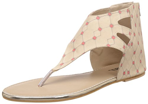 Nell Women's Beige Fashion Sandals - 8 UK/India (41 EU)(RK2016-59 BEIGE)  available at amazon for Rs.249