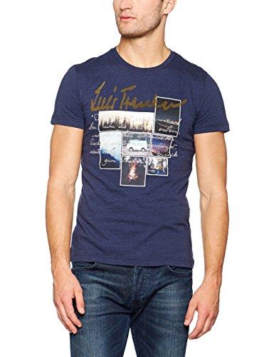 Luis Trenker Herren T-Shirt Gerit Blau (Dunkelblau 5900)