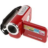 Segolike Camera Mini Digital Video Camcorder HD DV 1.8'' Screen 8x Zoom (Red)