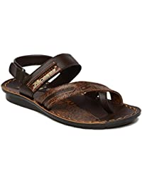 PARAGON SLICKERS Men's Brown Sandals