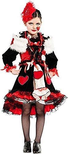 Fancy Me Italienische Herstellung Mädchen Deluxe Königin der Herzen büchertag Alice im Wunderland Film Kostüm Kleid Outfit - 3 - Kind Deluxe Alice Im Wunderland Kostüm