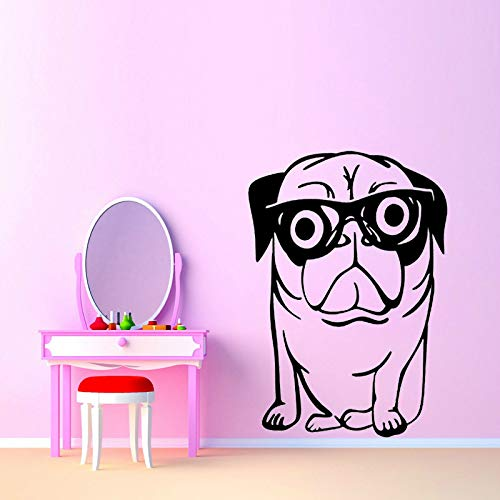Hund Lustige PVC Wandaufkleber Kunst Dekoration Aufkleber Grafische ()