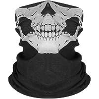 VORCOOL 3pcs Headwear Wide Headbands Bufanda Head Wrap Mask Sweatband Deporte Multifuncional Diadema Cuello Calentador para Acampar Corriendo