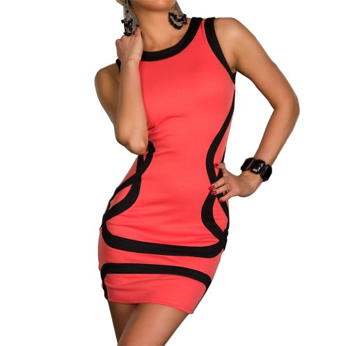 damen-tunika-patch-kontrastfarbe-rmel-bodycon-bleistiftkleid-rosa-sexy-club-wear-cocktail-abendkleid