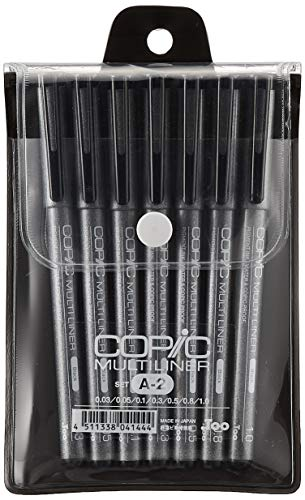Copic Markers MLA2 Multiliner Inking Pen, Set A-2 (japan import)