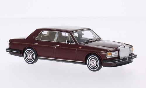 rolls-royce-argento-spirito-rosso-scuro-rhd-1980-modello-di-automobile-modello-prefabbricato-truesca