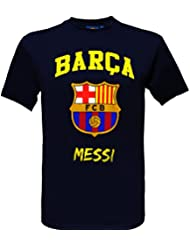 T-shirt Lionel Messi - N°10 - Barça - Collection officielle FC BARCELONE - Taille adulte homme