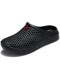 Eagsouni Unisex Zuecos de Playa Respirable Zapatillas Zapatos Ahueca Hacia Fuera Las Sandalias Hombres Mujeres