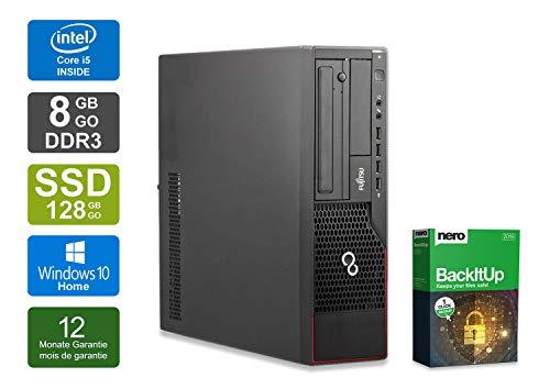 Preisvergleich Produktbild Fujitsu Esprimo E900 DT / Office PC / Multimedia Computer / Intel Core i5-2400 @ 3, 1 GHz / 8GB DDR3 RAM / 128GB SSD / DVD-Laufwerk / Windows 10 Home (Zertifiziert und Generalüberholt)