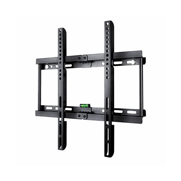 Paladinz-Support-TV-Mural-ultra-mince-type-fixe-pour-99-marques-de-tlviseur-de-23-55-pouces-vesa-max-400x400-mm-support-fixation-murale-en-acier-charge-max-95-kg-ultra-robuste-convient-presque-tous-le