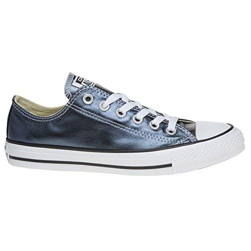 Converse Ctas Ox Blue Fir/White/Black, Basses mixte adulte Schwarz (Blue Fir/White/Black)