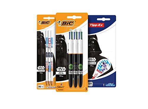 BIC 948540 Star Wars Schreibwarenset (Können Star Sie Wars Zeichnen,)