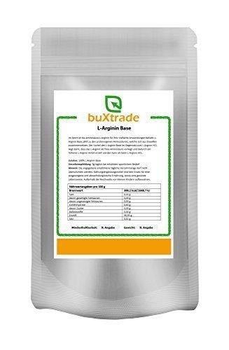 1 kg L-Arginin Base Pulver | L Arginin Aminosäure Fitness