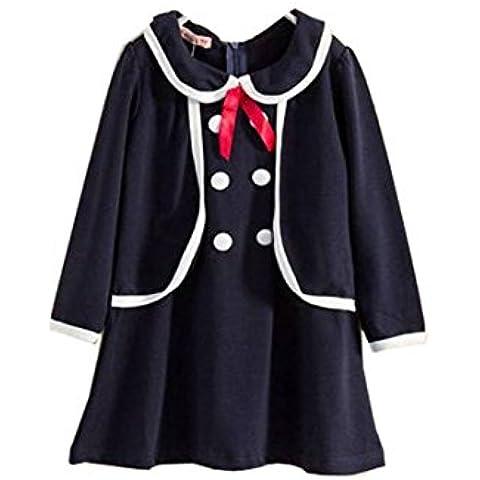 Cherry Sweet Talk Bambino ragazza Principessa uniforme scolastica bowknot collare