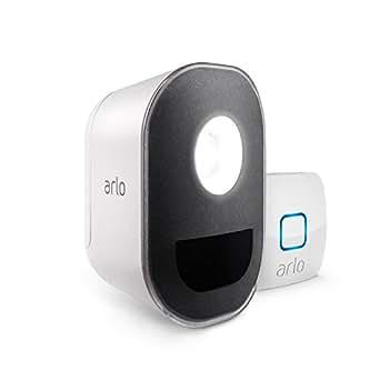 Arlo Smart Lights - Pack de 1 éclairage LED Connecté 100% sans Fils, Personnalisables Via Appli Gratuite, Résistants aux Intempéries - Déjà Compatible avec Amazon Alexa I ALS1101-100PES