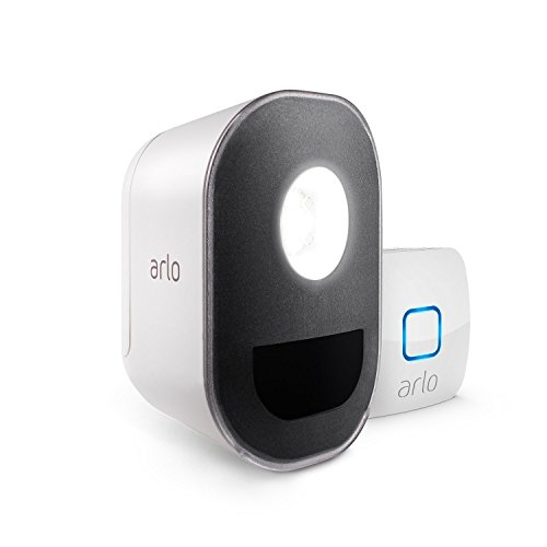 Arlo Security Light ALS1101-100PES, 1 Smart Light senza Fili con Batteria Ricaricabile,...