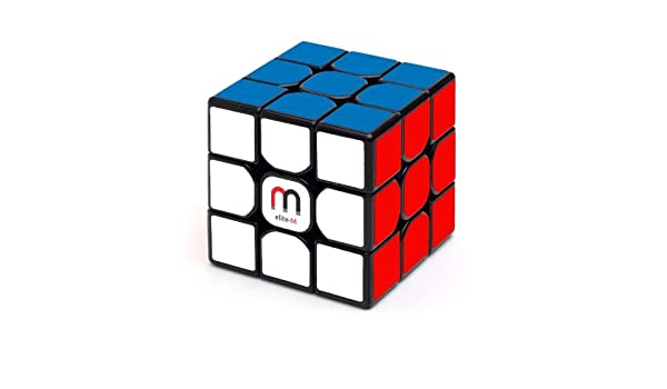 71cf685d55 Buy Cubelelo MoFang JiaoShi MF3RS2 3x3 Black Elite Magnetic Online at Low  Prices in India - Amazon.in