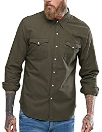 NxtSkin Casual Full Sleeves Double Pocket Shirt For Men