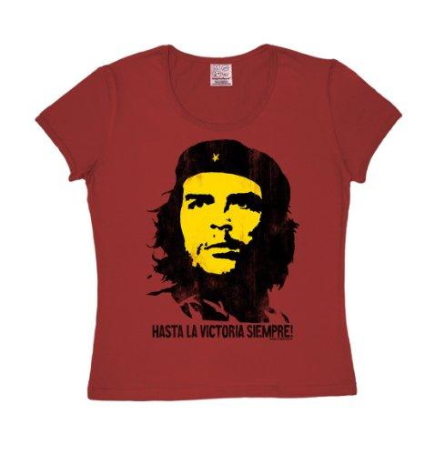 Logoshirt Camiseta Che Guevara - Vintage Rojo XS