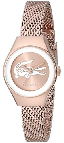 Lacoste Womens Analogue Classic Quartz Watch with Stainless Steel Strap 2000875