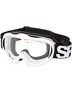 Spy 321095632097 - Gafas de esquí hombre, colore: Shiny White - Clear