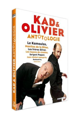 Antotologie de Kad et Olivier - Edition 2 DVD [FR IMPORT]