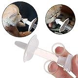 QYWSJ Pet Silicone Siringa di Alimentazione, Dispositivo di Alimentazione di Droga Piccolo Animale Universale, Sicuro E Non Tossico, Facile da Usare, Gattino Coniglio Criceto Universale