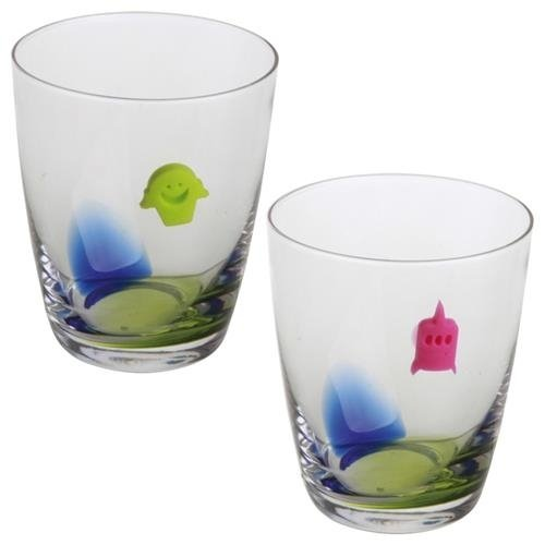 SAVEUR ET DEGUSTATION Marque verre fantaisie silicone
