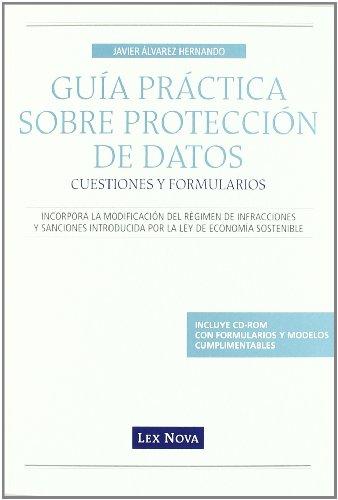 Protección de datos : cuestiones prácticas y formularios por Javier Álvarez Hernando