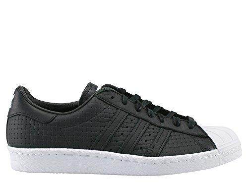 80s Moda Adidas Sneaker Superstar Nero Tessuta r1FrgCwqx