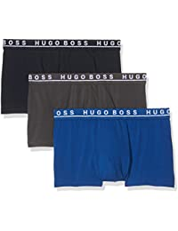 ce05131fe BOSS Men's Trunk 3p Co/El Boxer Shorts