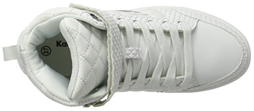KangaROOS Prisma, Baskets Hautes Femme Weiß (White)