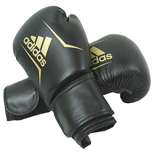 adidas Boxhandschuhe Speed 50, Schwarz, 10