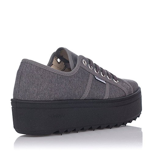 Victoria , Damen Sneaker Anthrazit