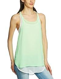 Freesoul Women Shirt-blouse Asymmetric Sleeveless Shirt