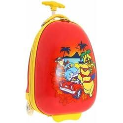 JOHN TRAVEL Trolley rígido Infantil Winnie The Pooh Rojo 41.5 cm
