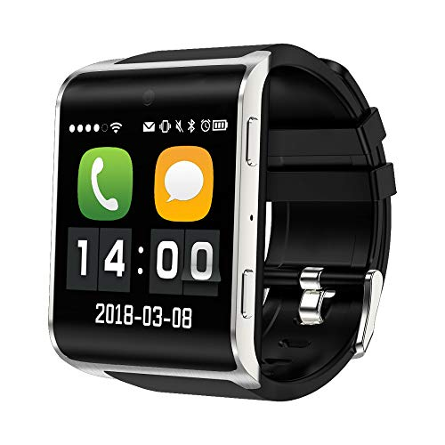 XUEQQ Sportuhr Smart Watch Mobile Touch Bildschirm 4gsim/WiFi Android 1 g + 8 g + app GPS Navigation Foto Vier Kernrate Überwachung SP Orts Watch Bluetooth Watch Surface-Bildschirm Multifunktion Touch Mobile
